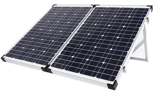 Portable 120w Folding Solar Panel Kit Goldray Energy